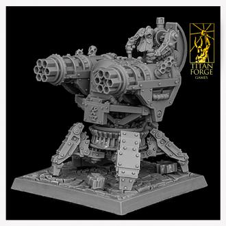 Steam Gatling Gun