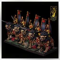 Komainu Spearmen Cavalry