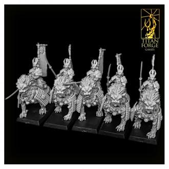 Komainu Spearmen Cavalry