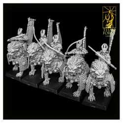 Komainu Archers Cavalry