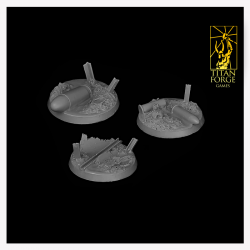 Trench Round Bases 40mm (3)