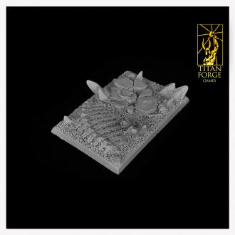 Daemonic Wasteland Square Bases 75x50mm (3)