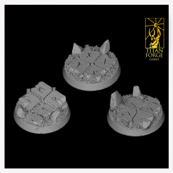 Celtic Round Bases 40 mm (3)