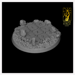 Celtic Round Bases 50 mm V2 (1)