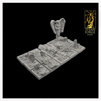 Graveyard Square Bases 20x20mm (10)