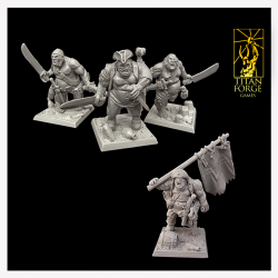 Bloodsail Island Warband Set